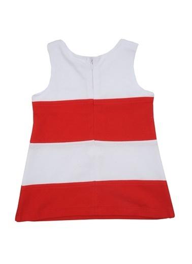 Zeyland Kırmızı Çizgili Kolsuz Elbise (6ay-4yaş) Kırmızı Çizgili Kolsuz Elbise (6ay-4yaş) Kırmızı